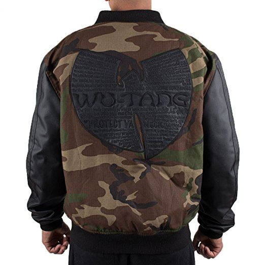 21c19cf403e9d Wu Wear - Wu Tang Clan- Protect Ya Neck Jacket- Wu-Tang Clan Size S, Color  Camouflage: Amazon.co.uk: Clothing