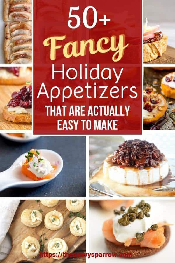50+ Elegant Holiday Appetizers that are Actually Easy to Make