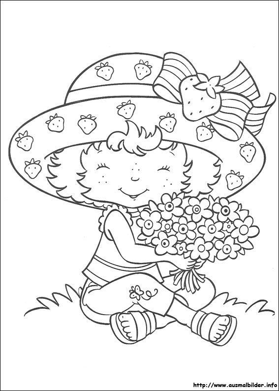 Emily Erdbeer Malvorlagen Ausmalbilder Strawberry Shortcake