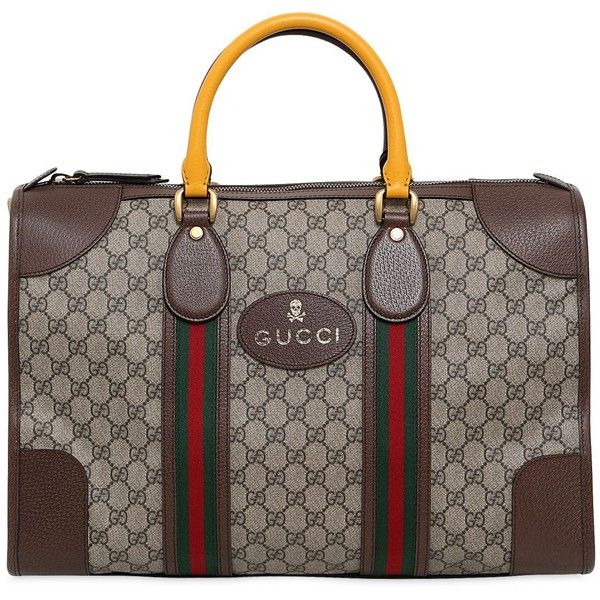 Gucci Men Gg Supreme Leather Small Duffle Bag 22 207 960 Idr