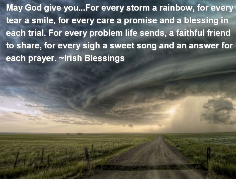 Faith Must Endure In The Midst Of The Blackest Storm...For