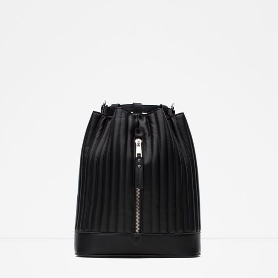 ZARA - COLLECTION AW15 - CASUAL BACKPACK