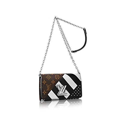 d168be16b9 Twist Chain Wallet Monogram Canvas - Small Leather Goods | LOUIS ...