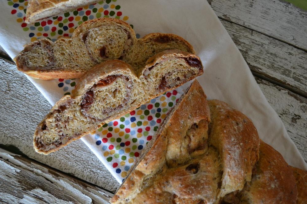 Cherry-Orange Braided Bread Vegan | Braided bread, King ...
