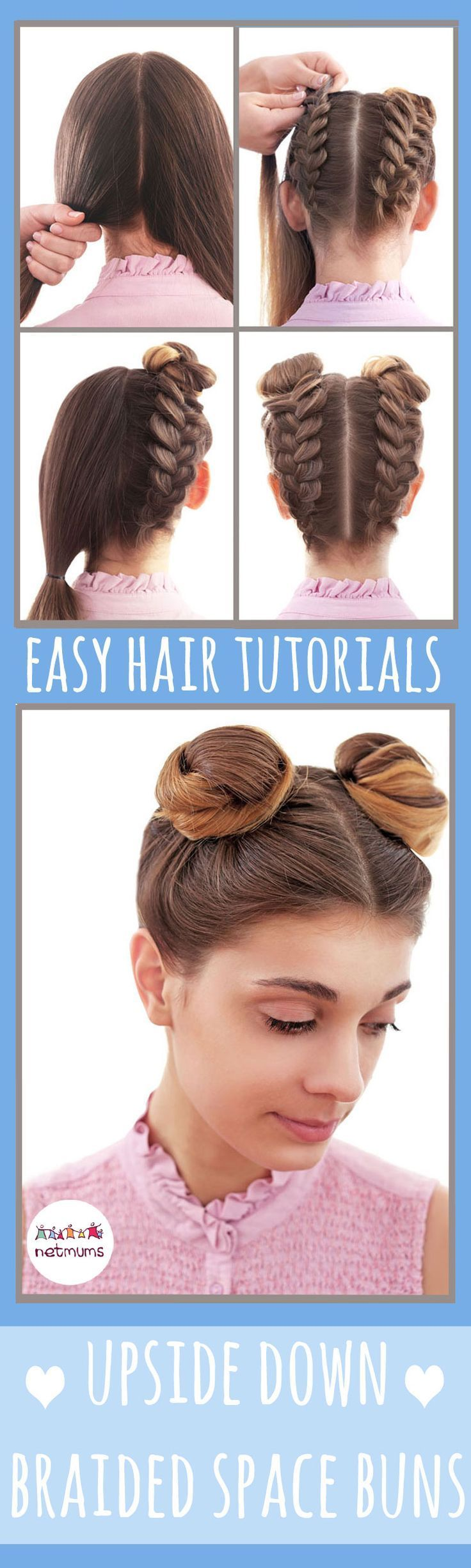 Simple hair tutorials stayli qzh pinterest easy hairstyles