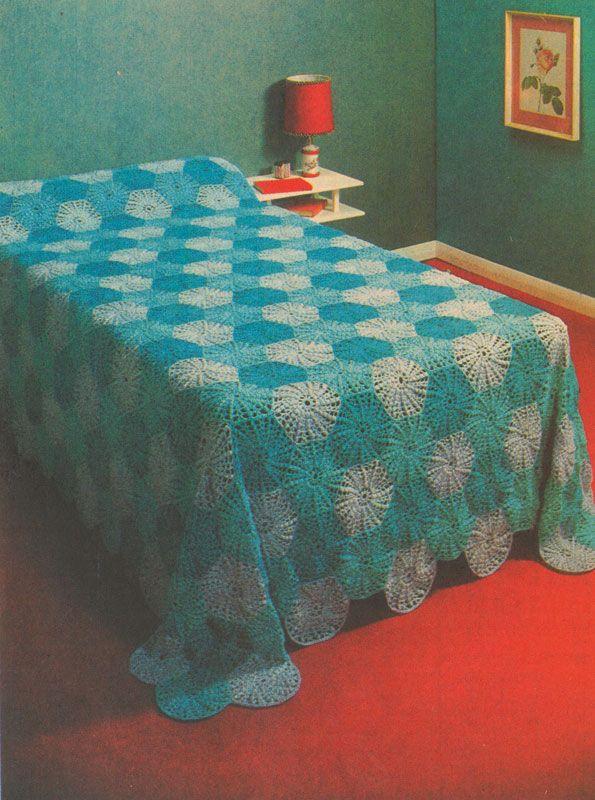Retro Patterns Craft Bedspread Patterns Free Patterns Sewing
