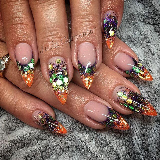 Poison Potion #nailsbyjulia #gelnails #stilettonails # ...