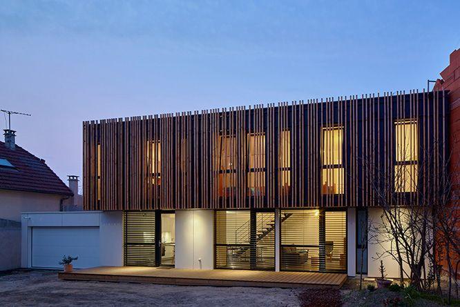 1000 ideas about construction maison bois on pinterest construction maison europeenne de chalet and maison bbc - Maison En Bois Moderne