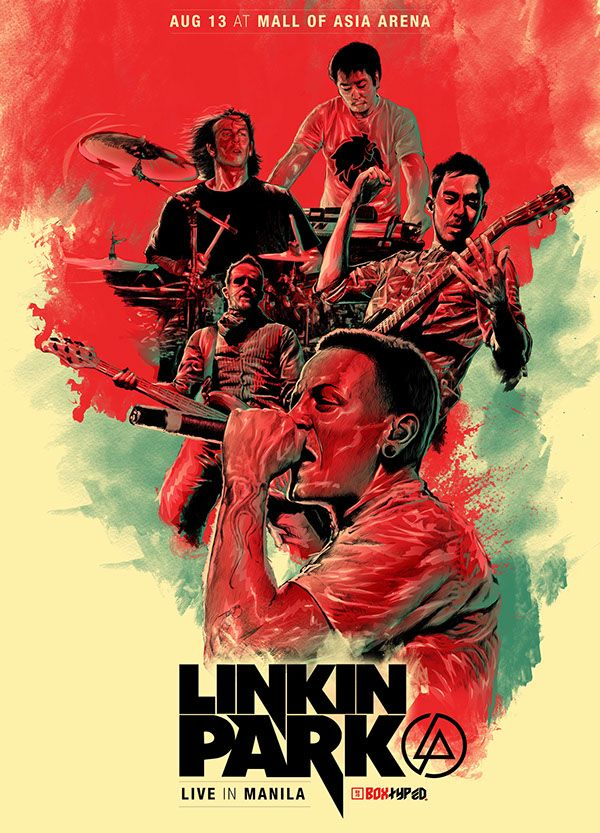 Linkin Park Poster Hd