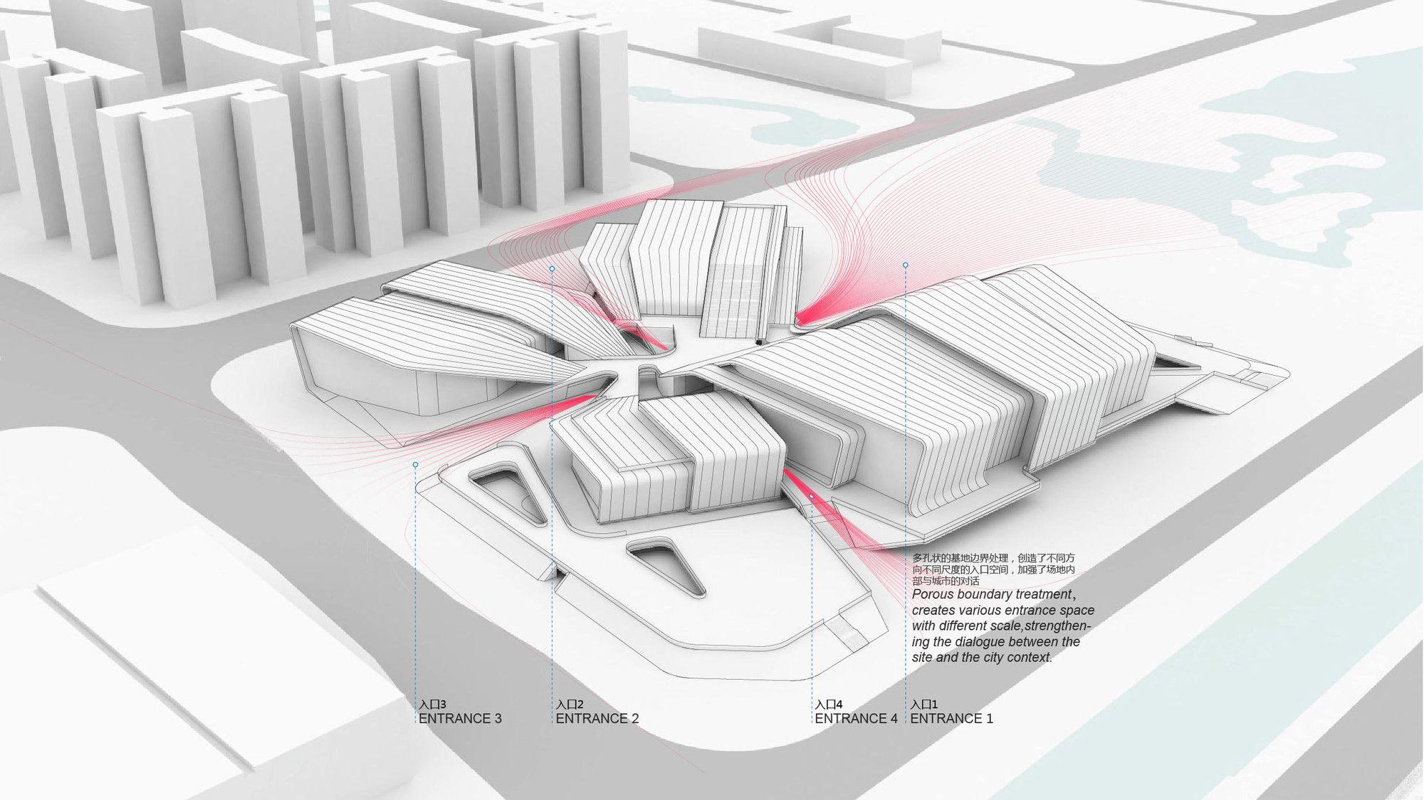 Gallery of Beijiao Sports Center / Decode Urbanism Office - 15 ...