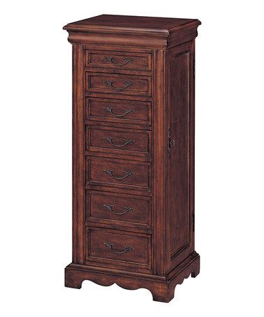 Another great find on #zulily! Cherry Jewelry Armoire #zulilyfinds