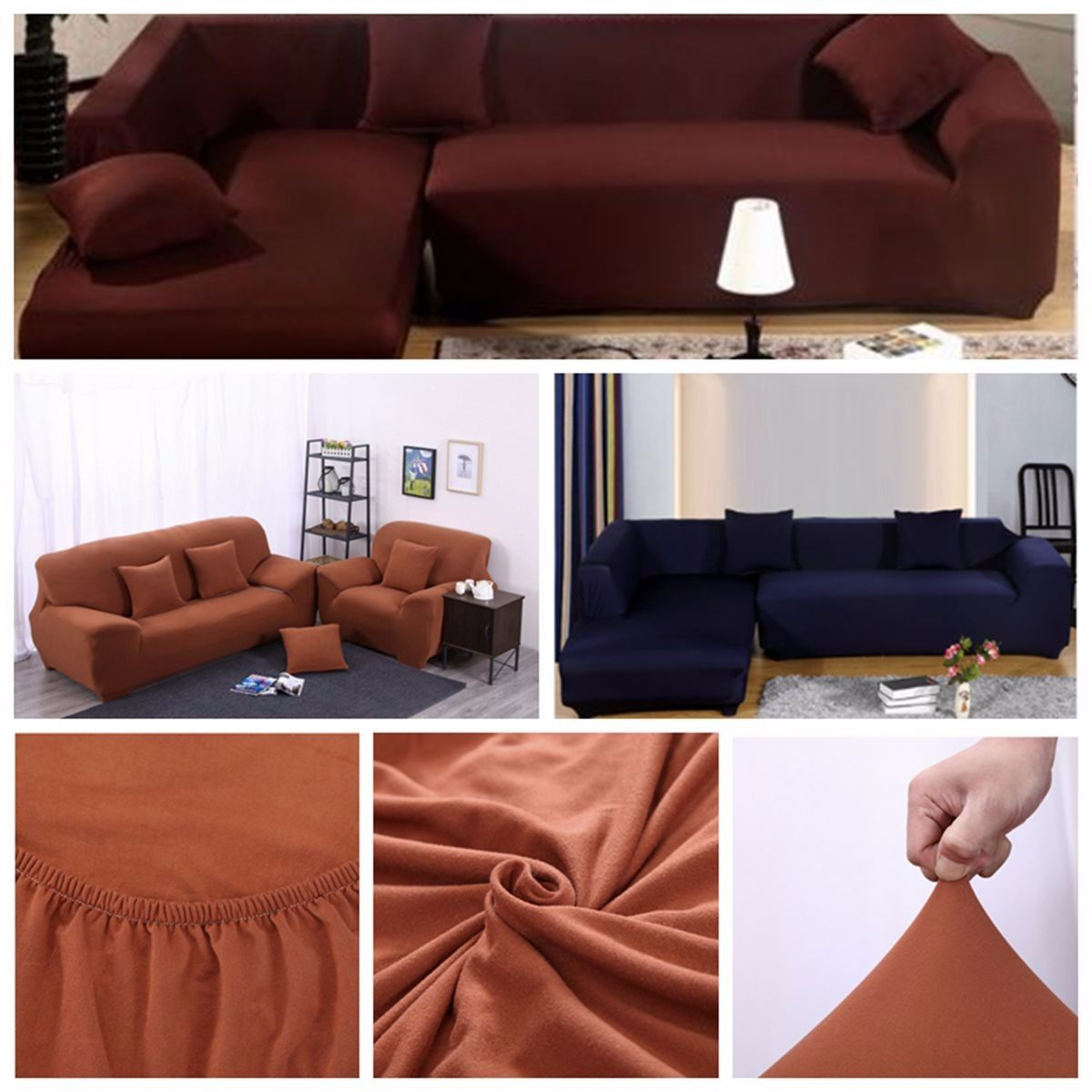 Pin By البيت الأنيق اونلاين On اثاث منزلي Home Furniture Fabric Sofa Cover Sectional Slipcover Sectional Couch Cover