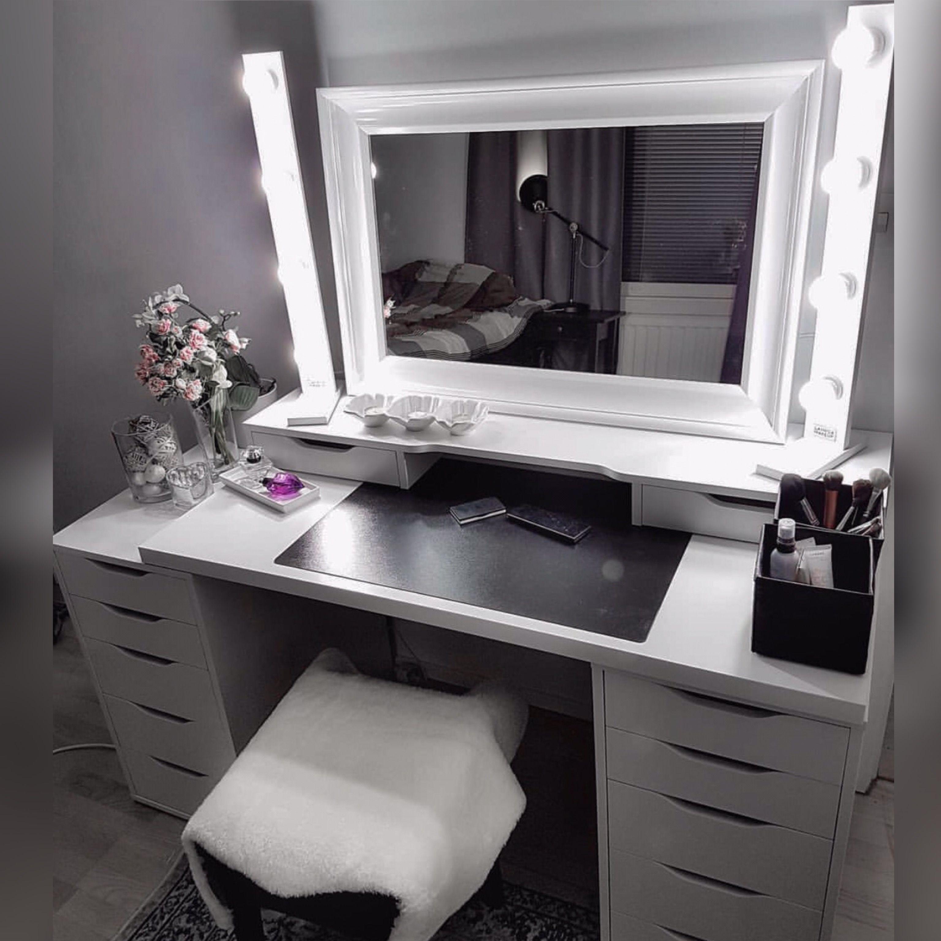 Makeup Storage Vanity Makeup Table Vanity Light Makeup