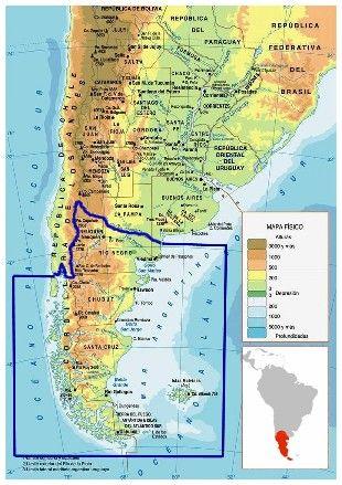 Trek Amerique Du Sud Carte.Trek En Patagonie Les Parcs Nationaux Chilienne Et