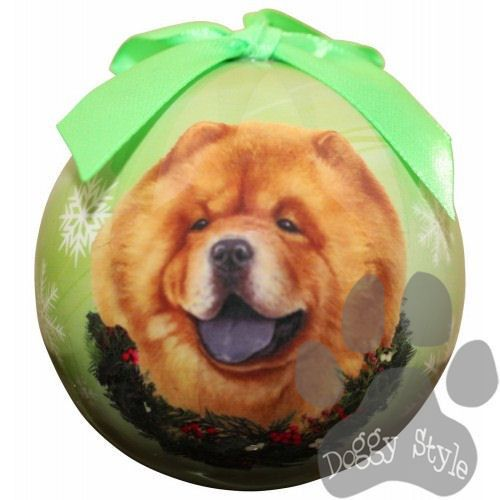 Chow Chow Shatterproof Dog Breed Christmas Ornament Dog Breeds