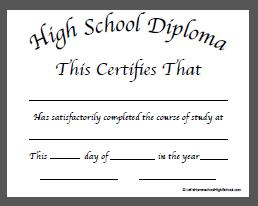Download homeschool high school diploma templates high school download homeschool high school diploma templates yadclub Choice Image