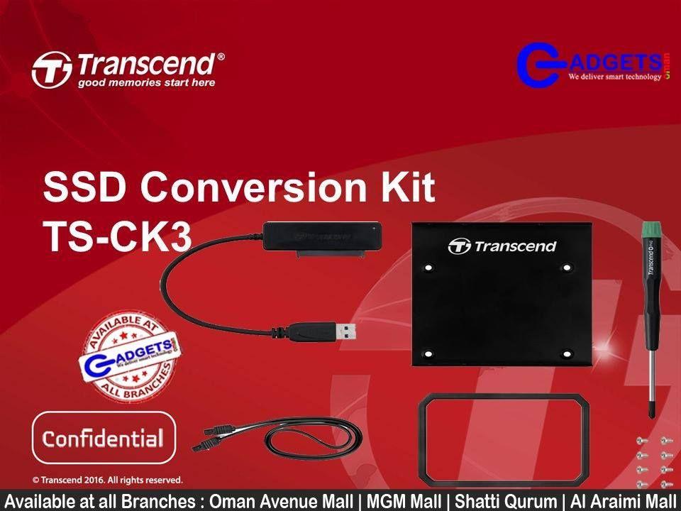 Transcend SSD Conversion Kit TS-CK3 #Upgrading desktop or notebook