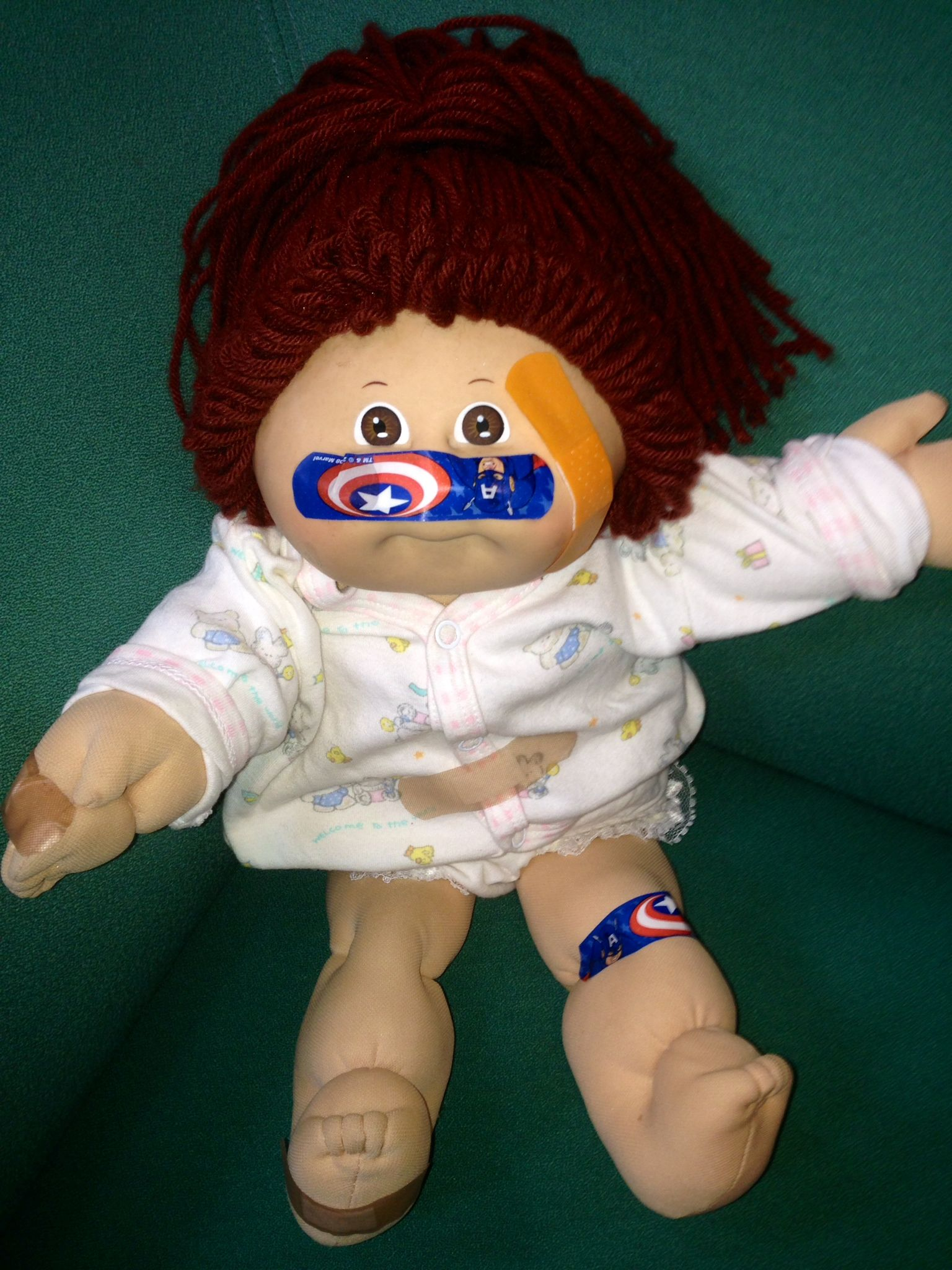 Teach Body Parts In Spanish Students Put Band Aids On The Doll For Reinforcement Of Las Partes