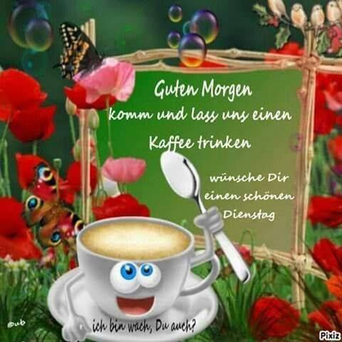 Guten Morgen Und Einen Schönen Dienstag Guten Morgen Gruss
