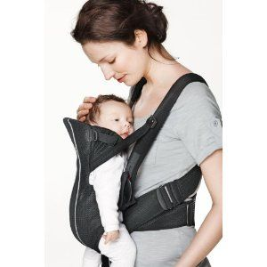 c7087eebbee BabyBjorn Baby Carrier Active Mesh (Black)  Amazon.ca  Baby