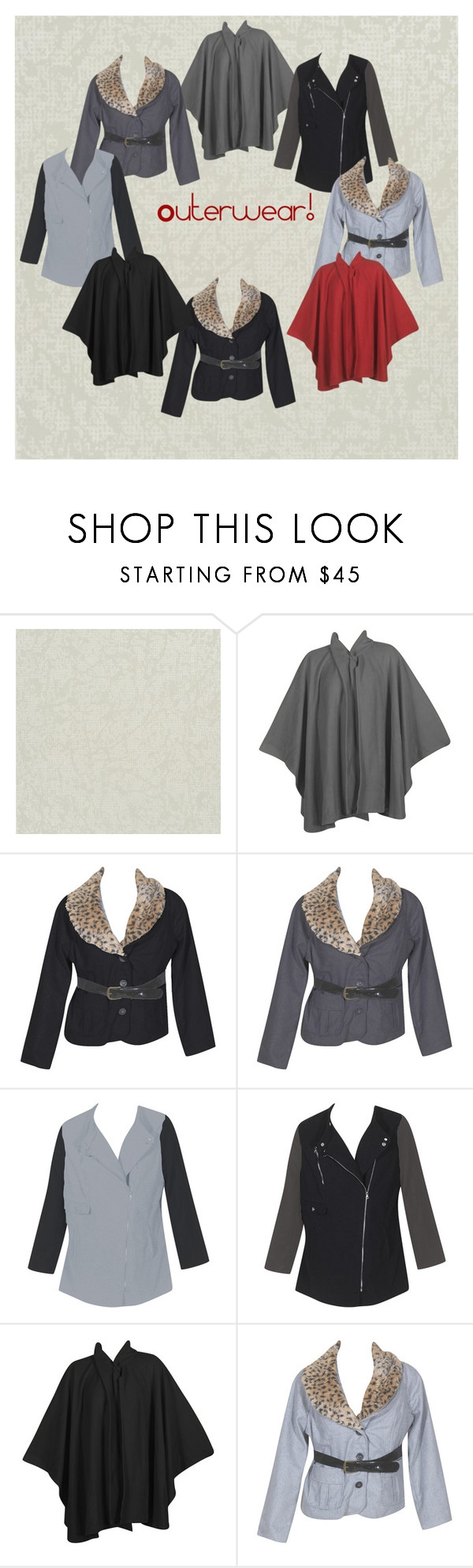 """""""Plus Size Outerwear, Jackets & Coats!"""" by alight-com on Polyvore"""