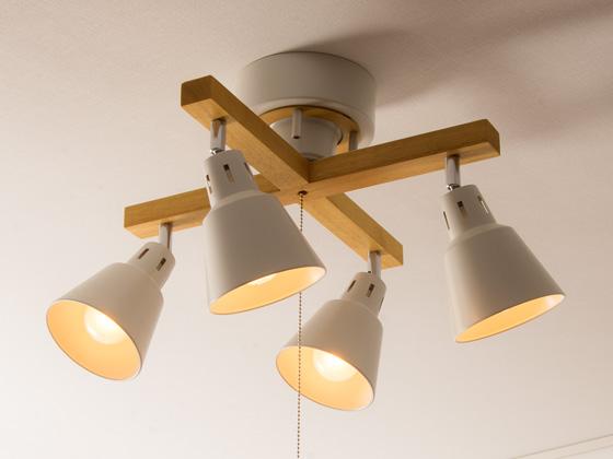 4灯シーリングライト Manis マニス シーリングライト 照明 天井照明