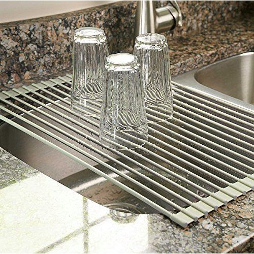 Best Large Commercial Kitchen Folding Small Mat Over The Sink