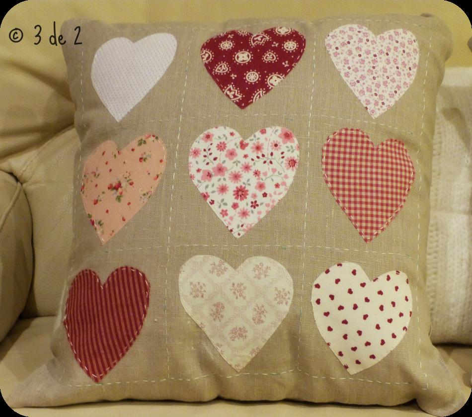 Cojines Con Aplicaciones.Cojin Con Aplicaciones Patchwork Pillows Diy Pillow Covers