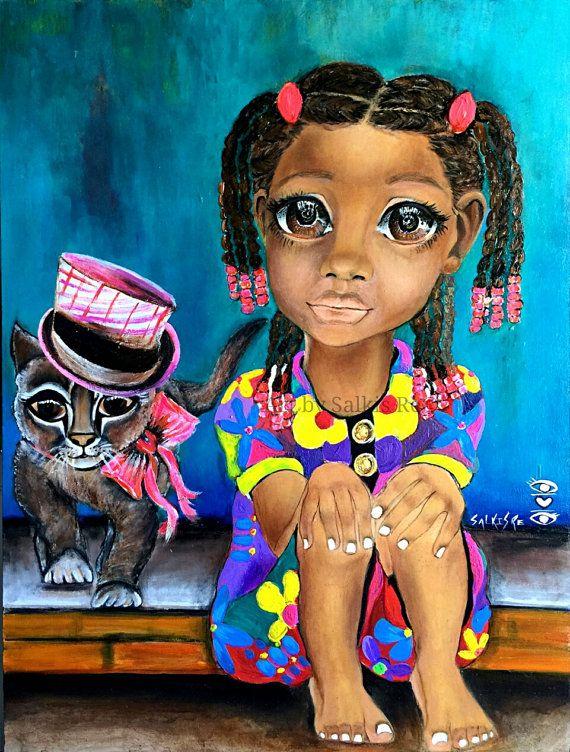 annie.jpg African american art, Afro art, Art
