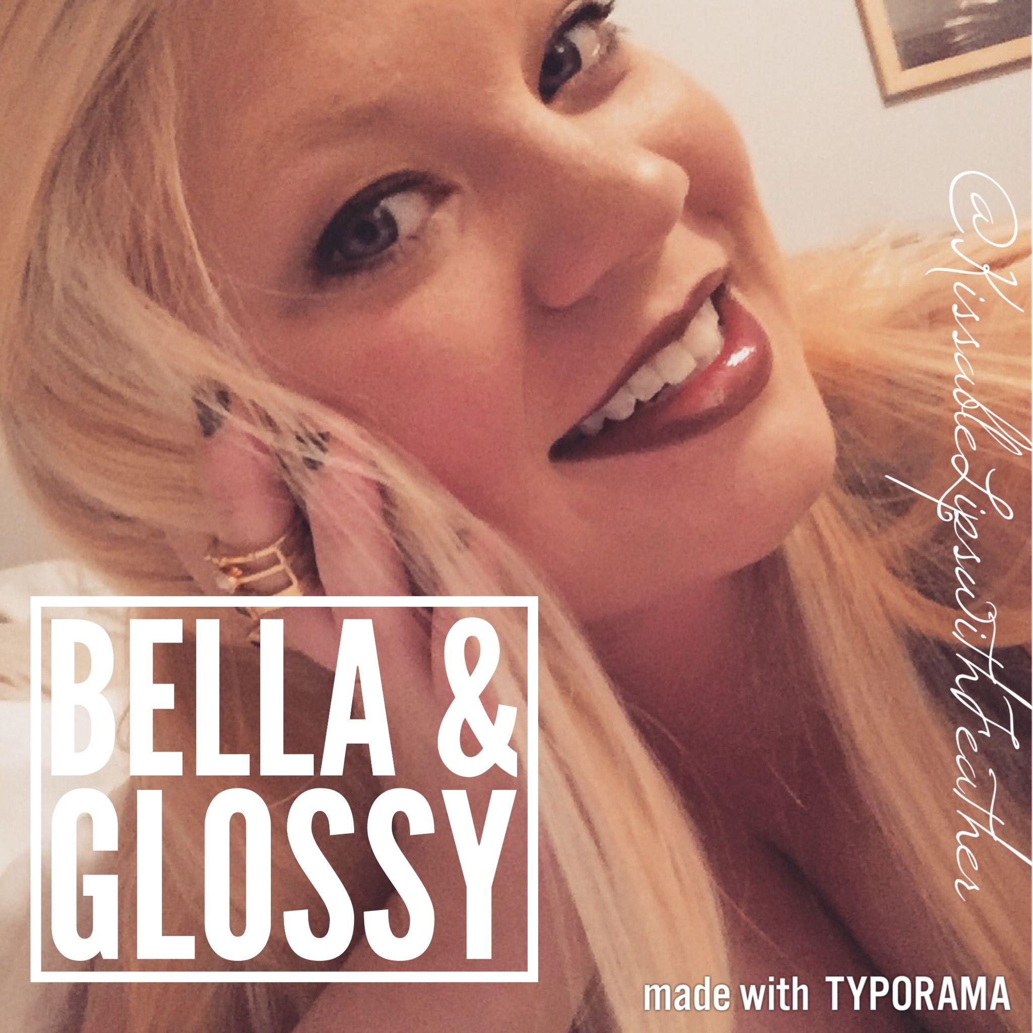 Bella LipSense!  Message to order!  #lipsense #bella #glossy #lipcolor #lippy #makeup #beauty