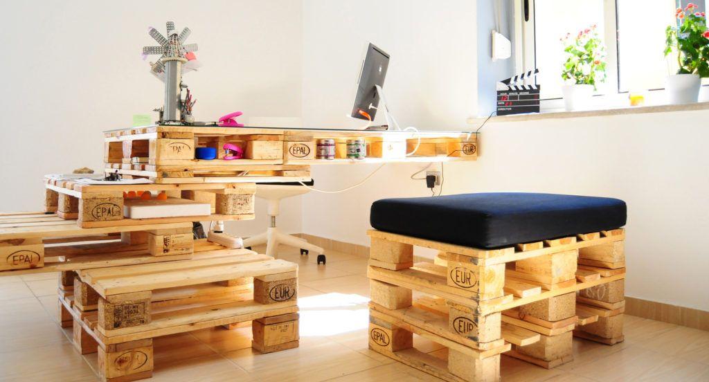 Bureaux Pas Cher Mobilier De Bureau Pas Cher Comment Bien Squiper Adopte Un Cheap Home Furniture Pallet Furniture Designs Wood Pallet Furniture
