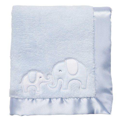 Carter S Cuddle Me Blanket Striped Elephants 171 Clothing