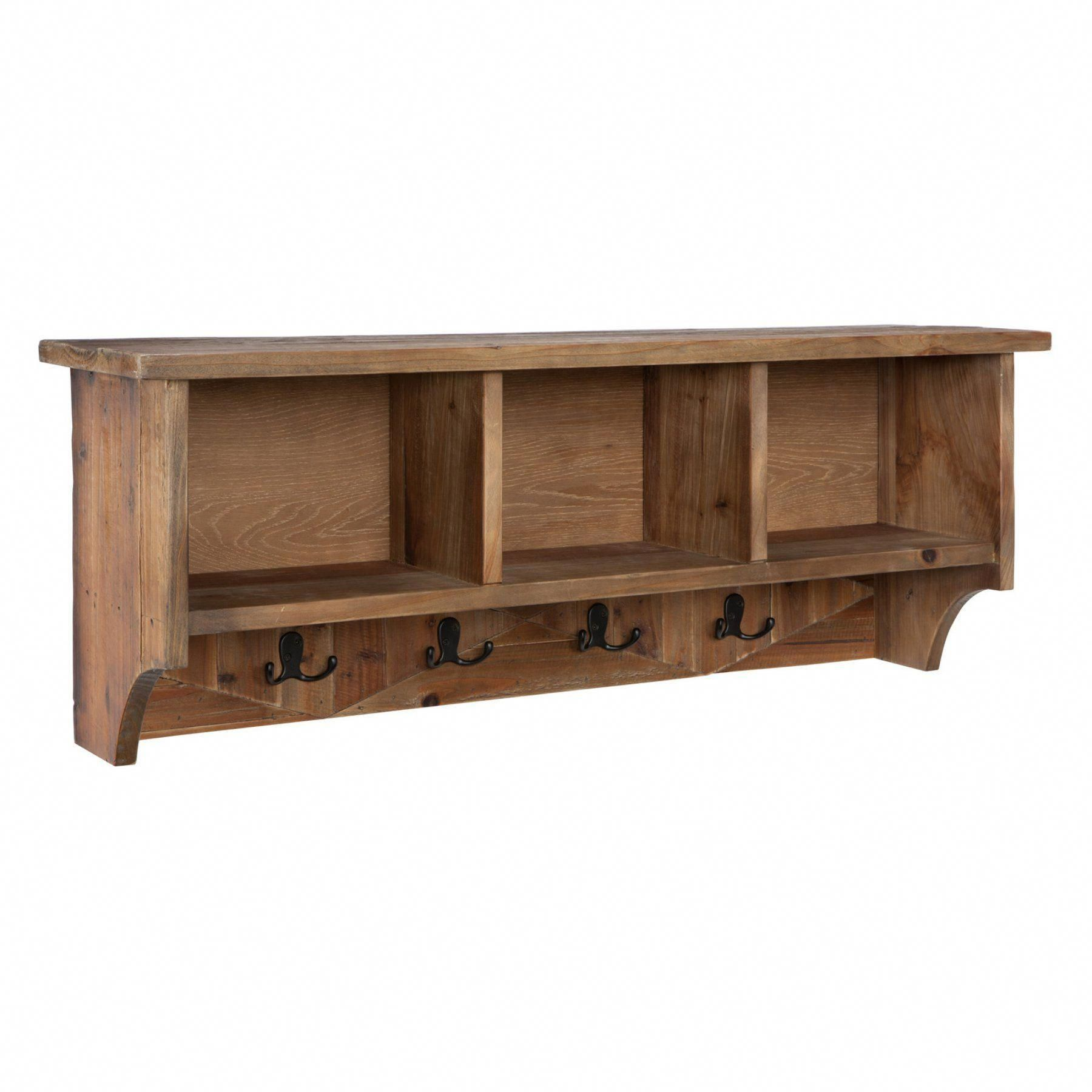 Alaterre Furniture Revive Rustic Natural Wall Mounted Coat