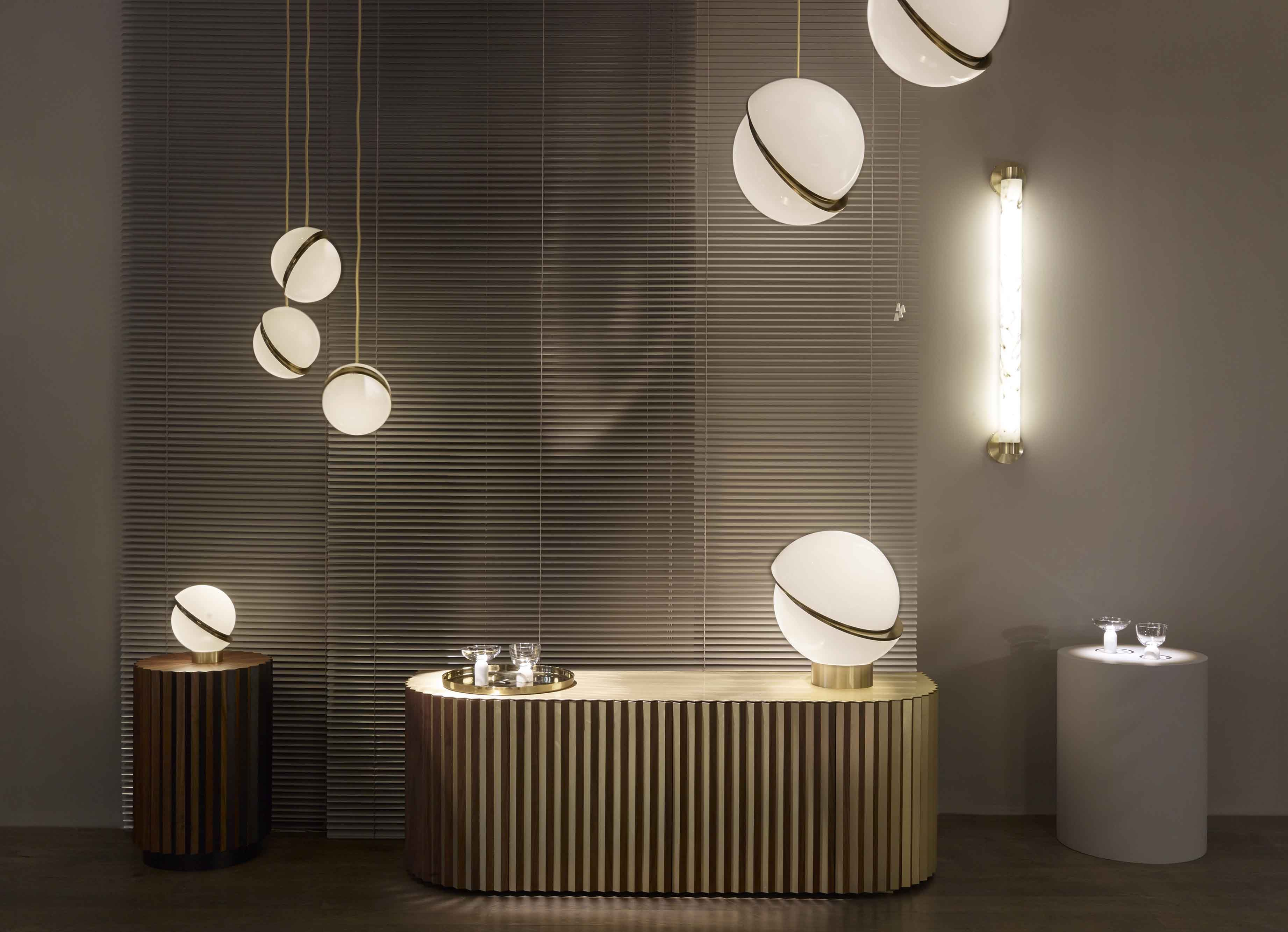 Crescent Light Mini Pendant By Lee Broom Pl677 20cm Belong
