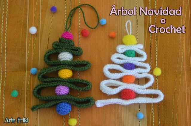 arbol navidad ganchillo | crochet1 knit 2 | Pinterest | Árbol ...