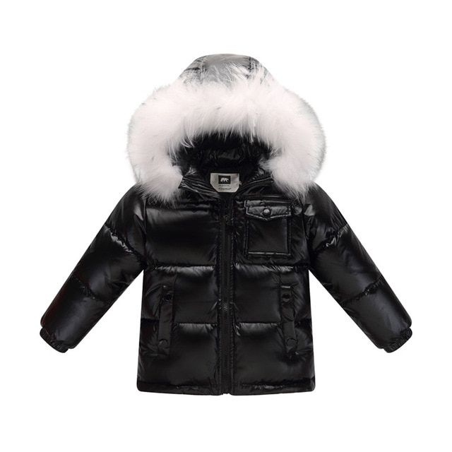 7494495be 2019 Winter Down Jacket Parka For Girls Boys Coats , 90% Down Jackets  Children's Clothing For Snow Wear Kids Outerwear & Coats