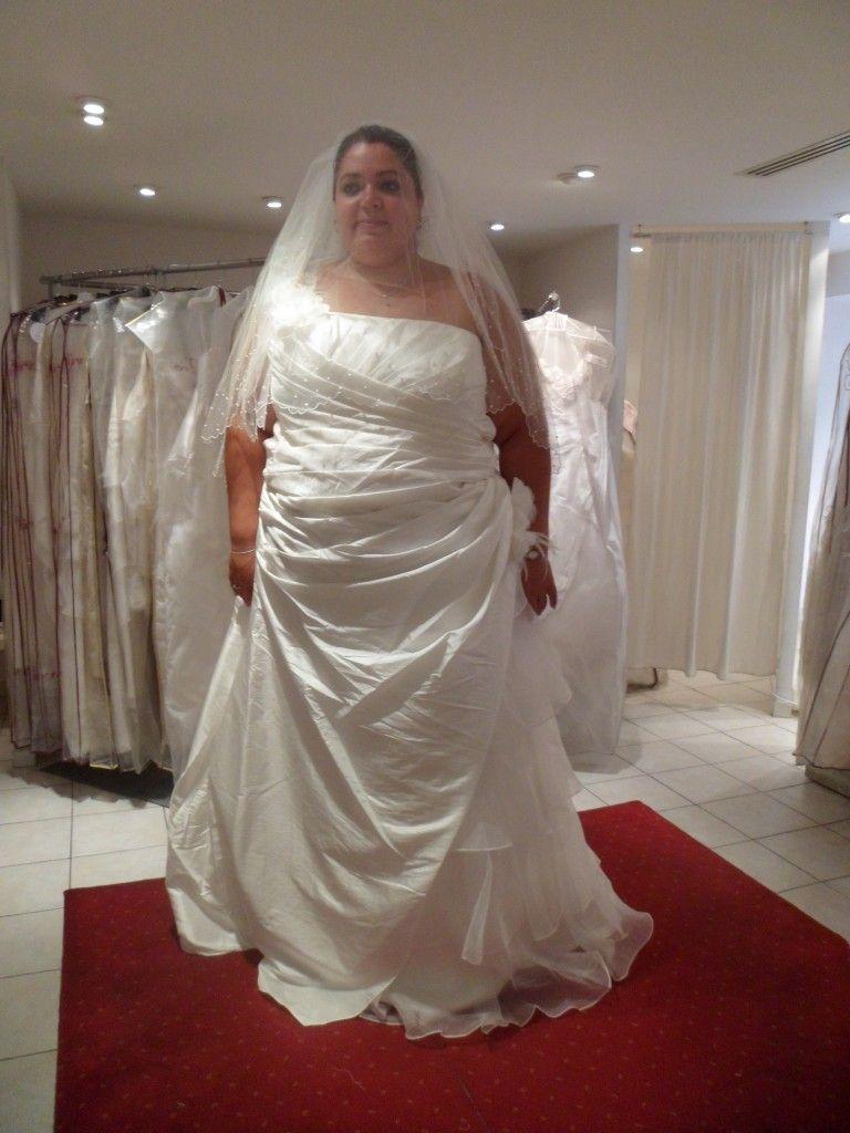 Mes essayages pour trouver ma robe de mariée grande taille (2ème partie)