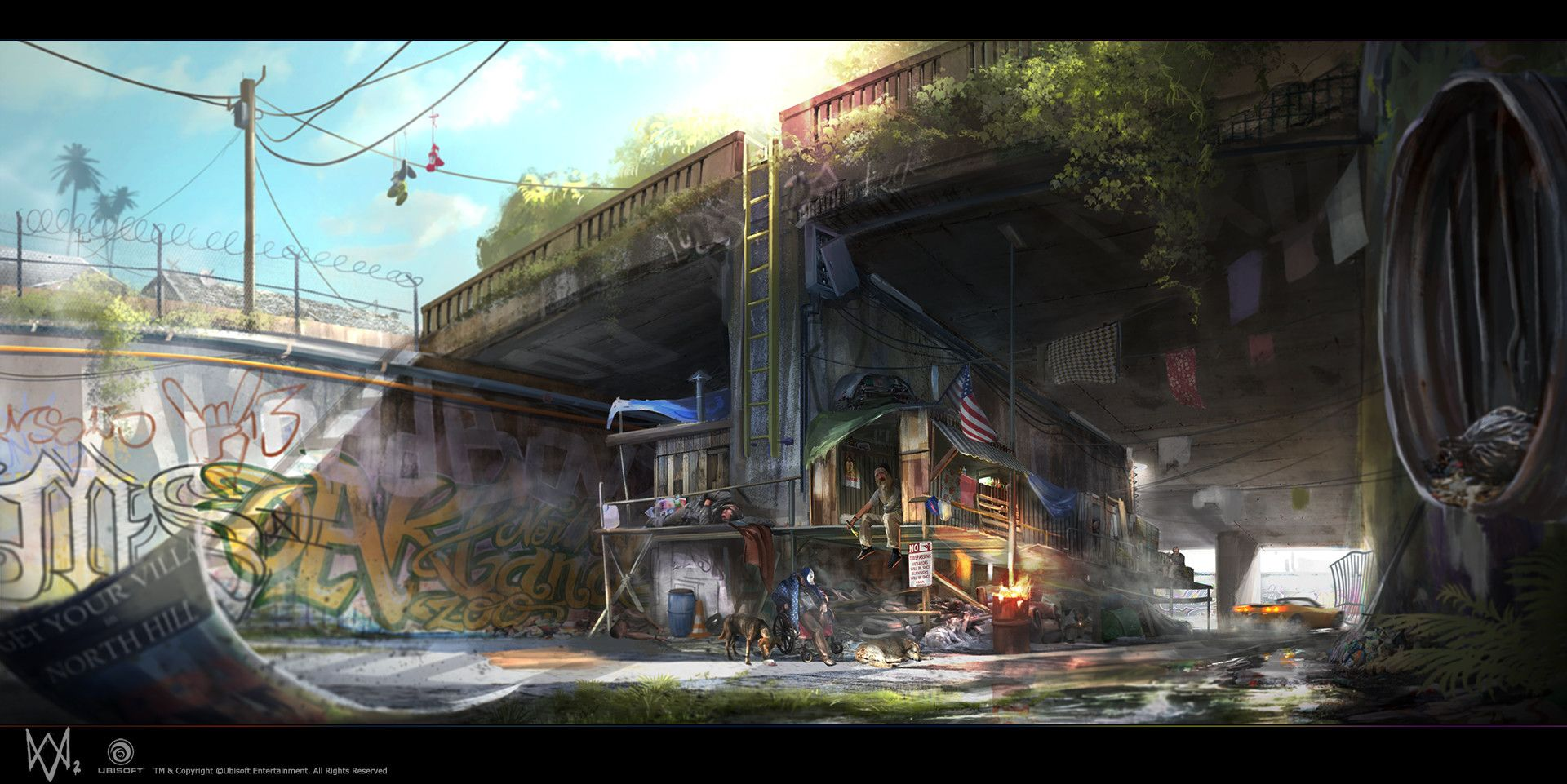 The Art Of Watch Dogs 2 World Of Darkness Art Game Concept Art