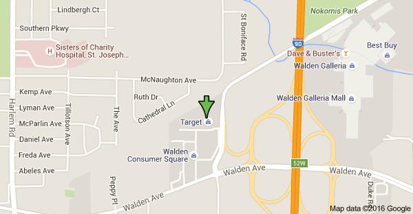 Map of 1750 Walden Ave Cheektowaga NY 14225 USA Shopping
