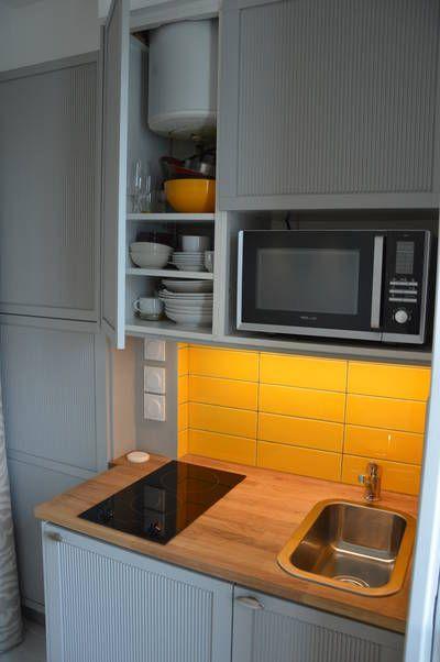 Miniature chambre de bonne parsienne paris 05 9m2 paris - Idees amenagement petite chambre 9m2 sos ...