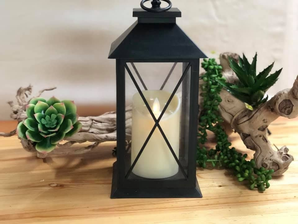 Led Candle Battery Operated Lantern 3 X Aaa Batteries Battery Operated Lanterns Decor Decor Gifts
