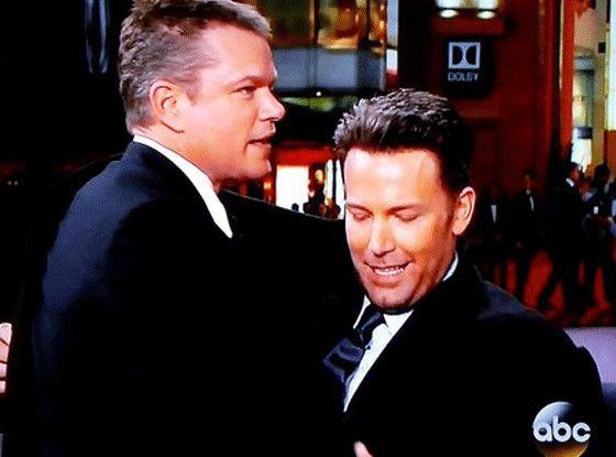 The Drama With Matt Damon And Jimmy Kimmel Lives On Matt Damon Ben Affleck Movie Stars