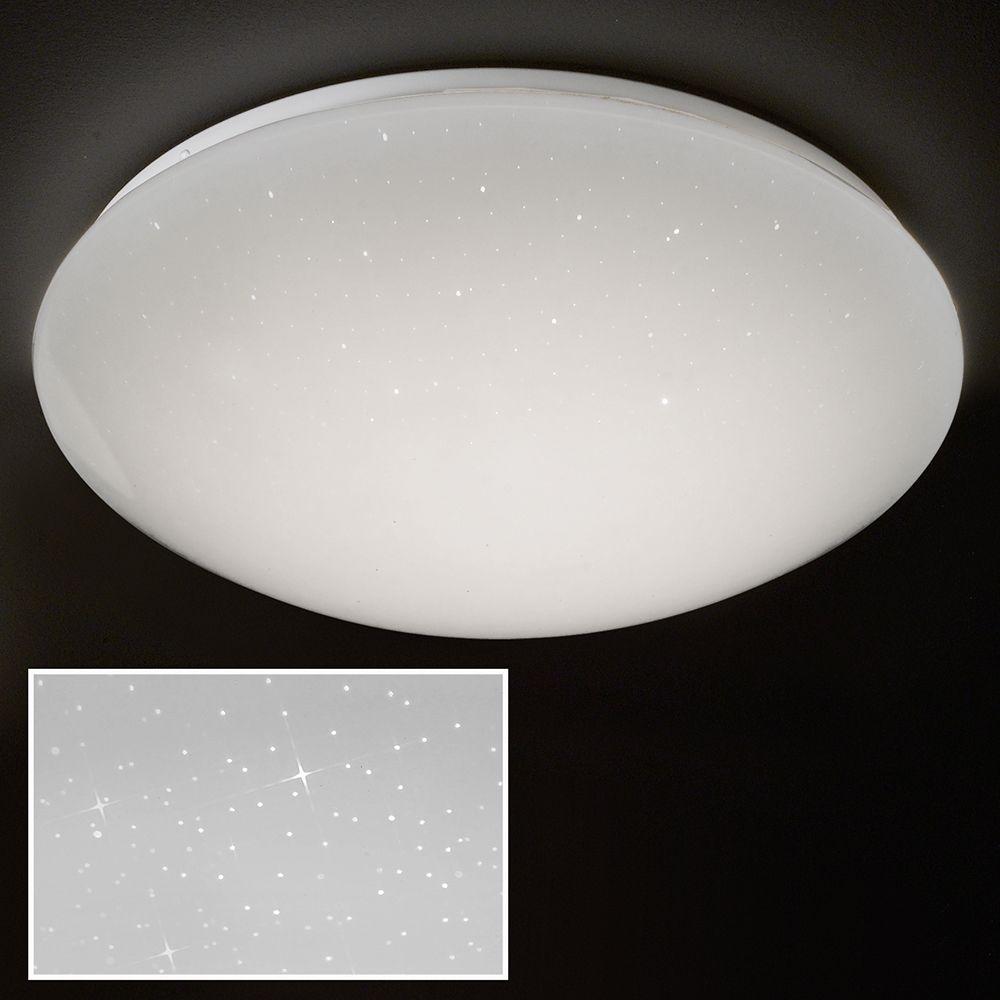 Den Sternen zum Greifen nah: Runde LED Deckenlampe