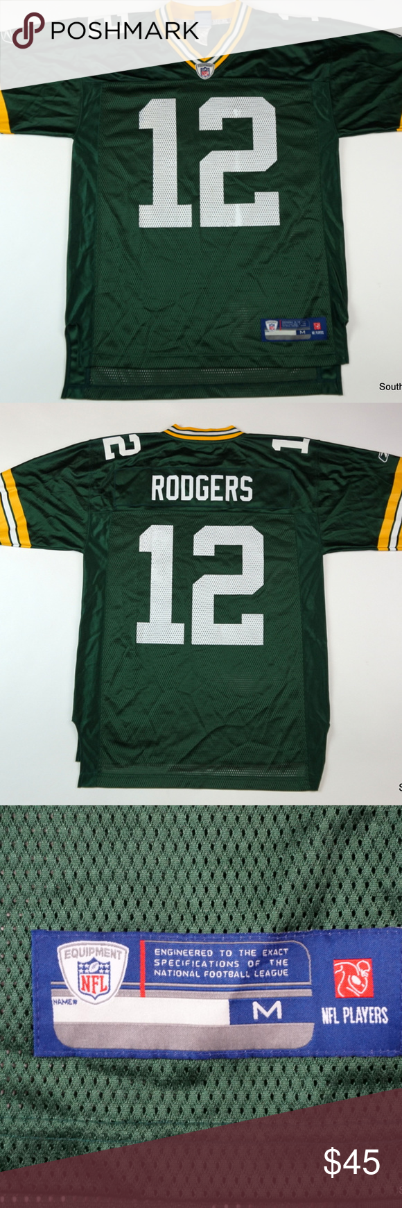 Aaron Rodgers Green Bay Packers Jersey Sz Medium Jersey Has Been Lightly Worn And Is In Good Shape T Aaron Rodgers Green Bay Packers Jerseys Green Bay Packers