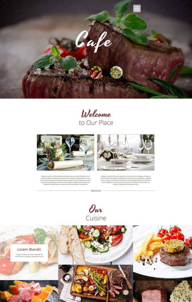 25 Free HTML5 Website Templates | Template, Website and Restaurant ...