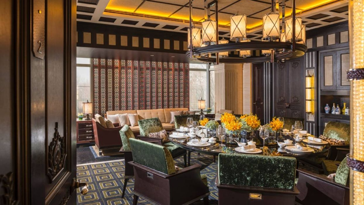 Four Seasons Hotel Beijing Hotels Style Fine Dining Restaurant Dining Interior Restaurant Interior Design Chinese dining room decor