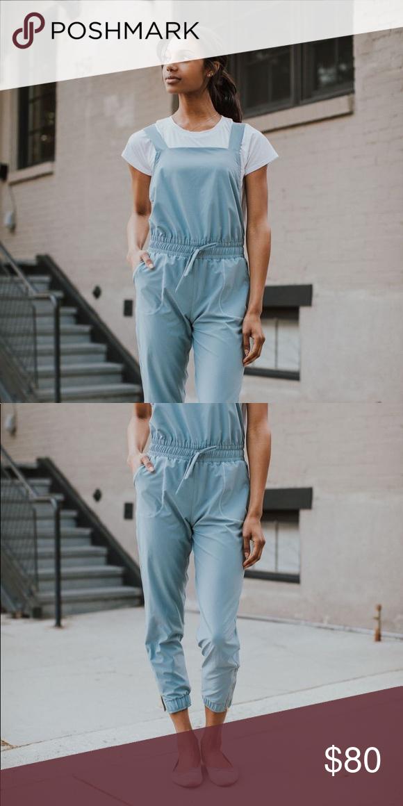 d367f7532da7 Albion Fit Overall Jumpsuit Dusk blue Albion Fit overall jumpsuit! Worn  once! Medium petite Retails for  118 Albion Pants Jumpsuits   Rompers