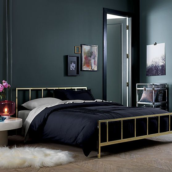Alchemy Shiny Brass King Bed Brass Bed Beds For Small Spaces