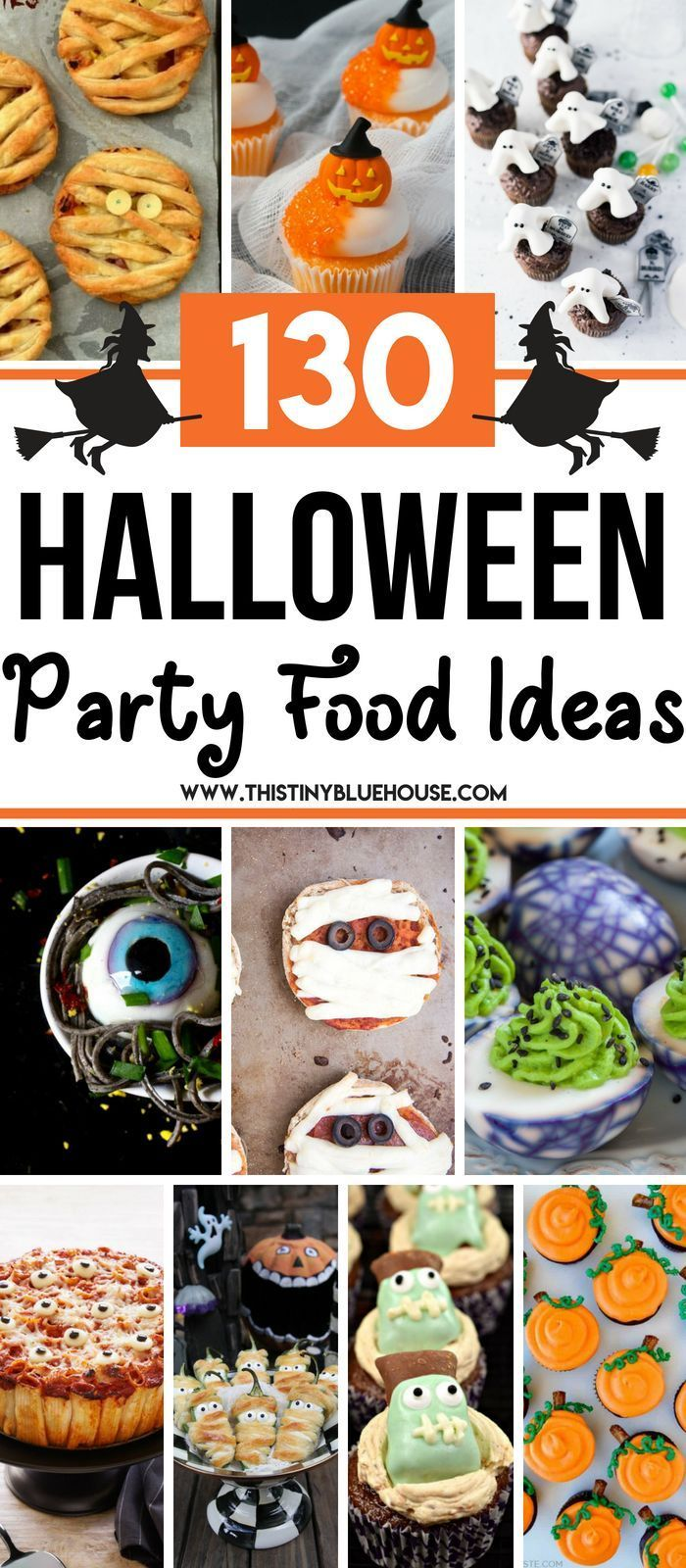 100+ Best Ultimate Halloween Party Food Ideas - This Tiny Blue House