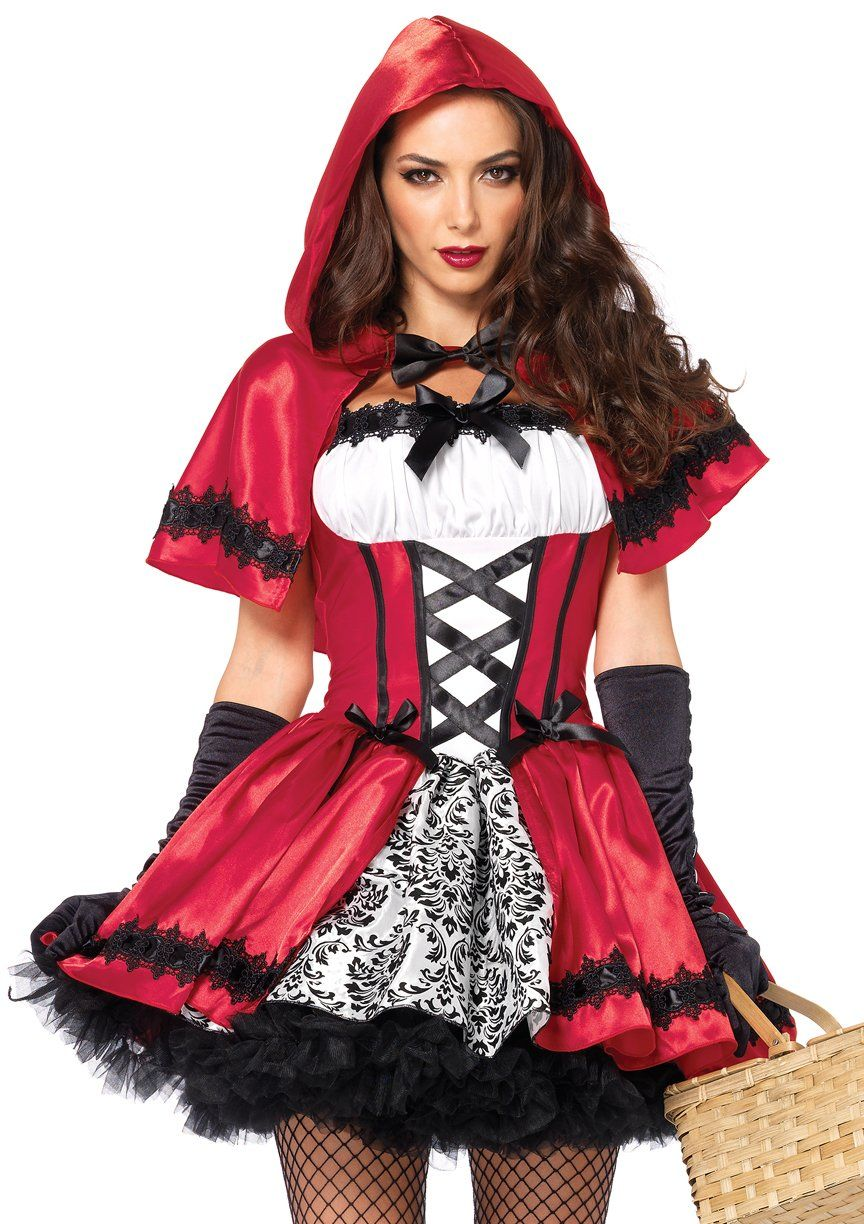 Gothic Red Riding Hood Red riding hood costume, Costumes